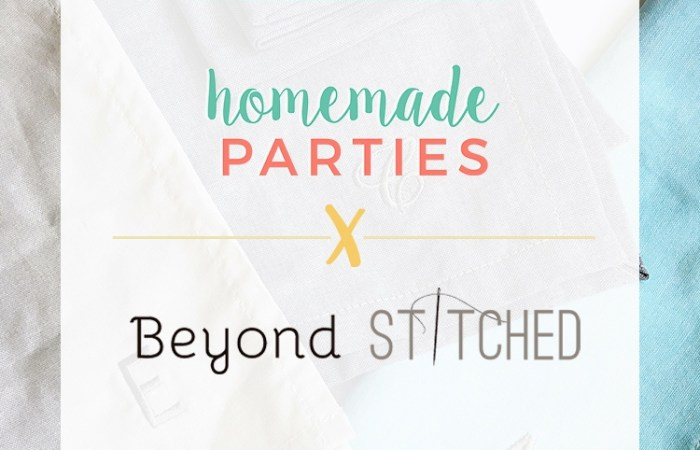 HMP Giveaway: Beyond Stitched