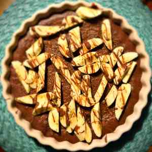 Bananen-Brownie-Tarte