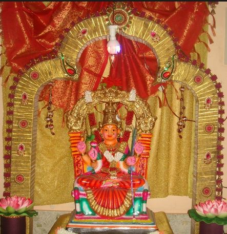 Decoration for navratri at home for Navratri decorations at home