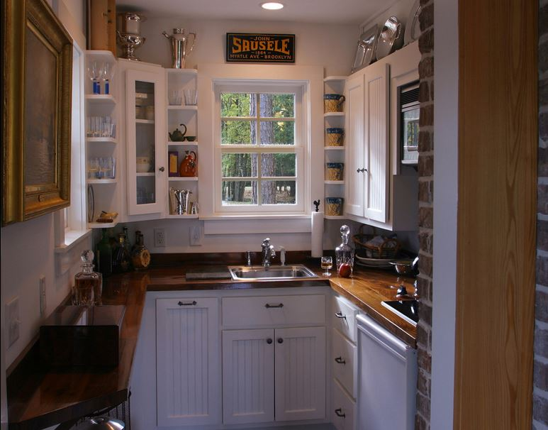Simple Kitchen Design for Very Small House - Kitchen ...