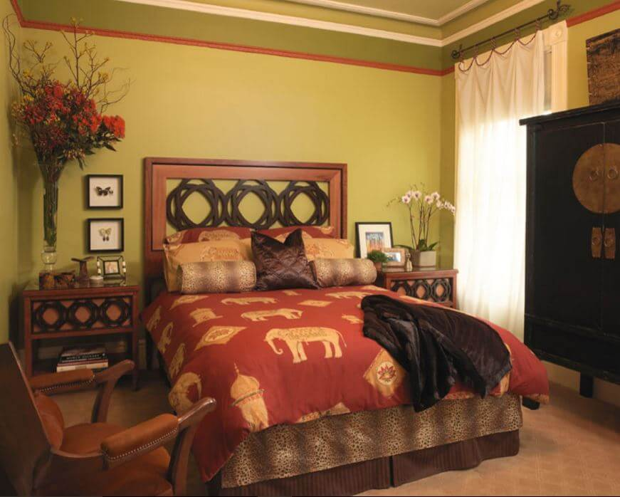 Share this on whatsapp rate this project 50 indian interior design ideas. Indian Bedroom Designs 5 - Pooja Room and Rangoli Designs