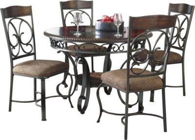 Ashley Glambrey 5 Piece Dining Set Homemakers Furniture