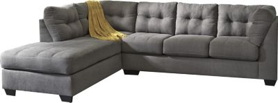Ashley Maier Charcoal 2 Piece Sectional Homemakers Furniture