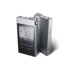 Astell & Kern AK100 II MQS Portable Audio Player/DAP Front & Back