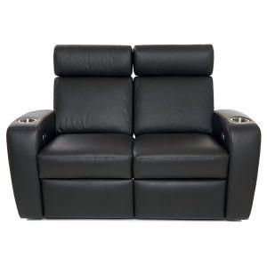 Palladio Napoli Love Seat Home Cinema Seating Black