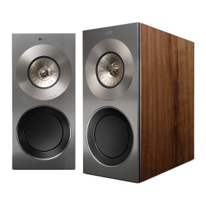 KEF Reference 1 Stand Mount Speakers Satin American Walnut