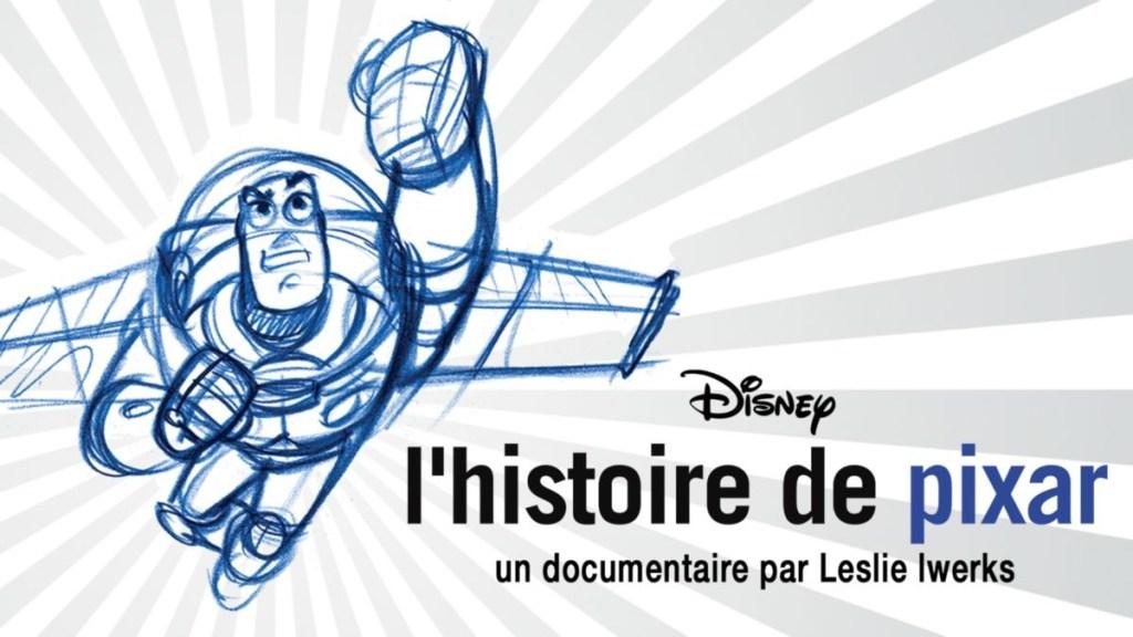 histoire de pixar