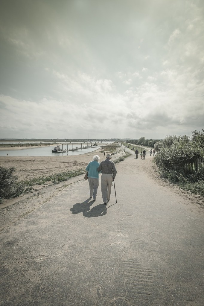 old, couple, elderly