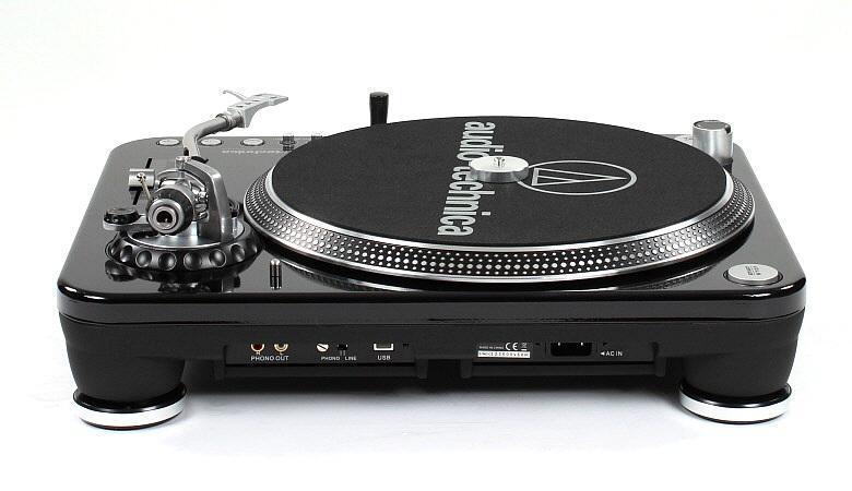 Audio Technica AT-LP1240USB hátulja