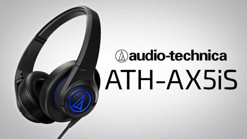 Audio Technica ATH-AX5IS zárt fejhallgató