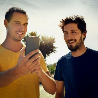 Único - Perfis de homens nos aplicativos de relacionamento