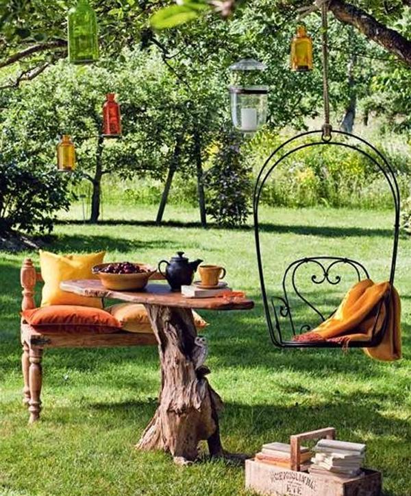 Beautiful And Modern Outdoor Furniture Garden Ideas
