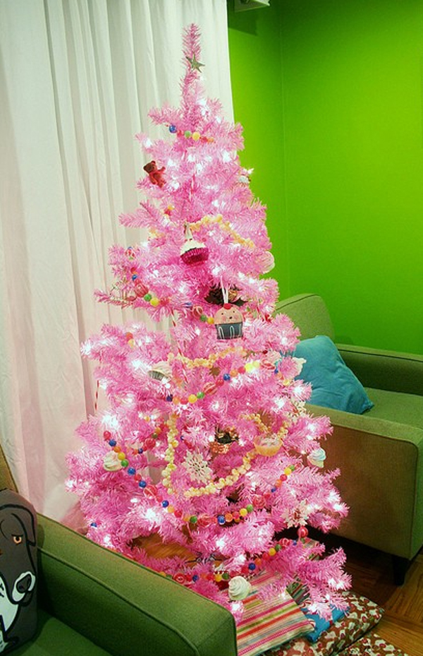Use these tips and tricks to make your cozy home feel spacious and comf. beautiful-pink-christmas-tree-decor-ideas   HomeMydesign