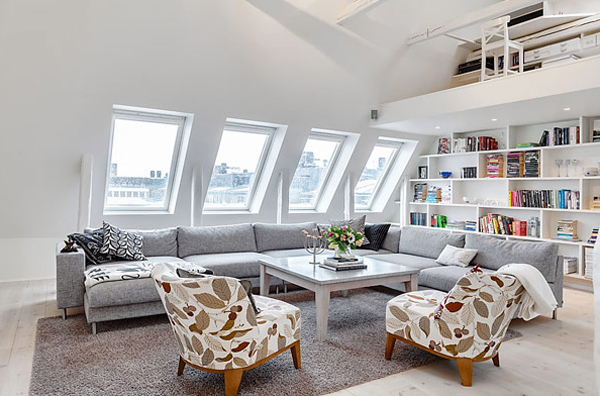 Small And White Apartment Decor In Stockholm Home Design