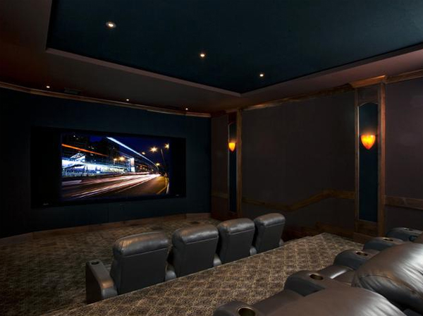 24 Inspiring Home Theater Design : Best Collection From