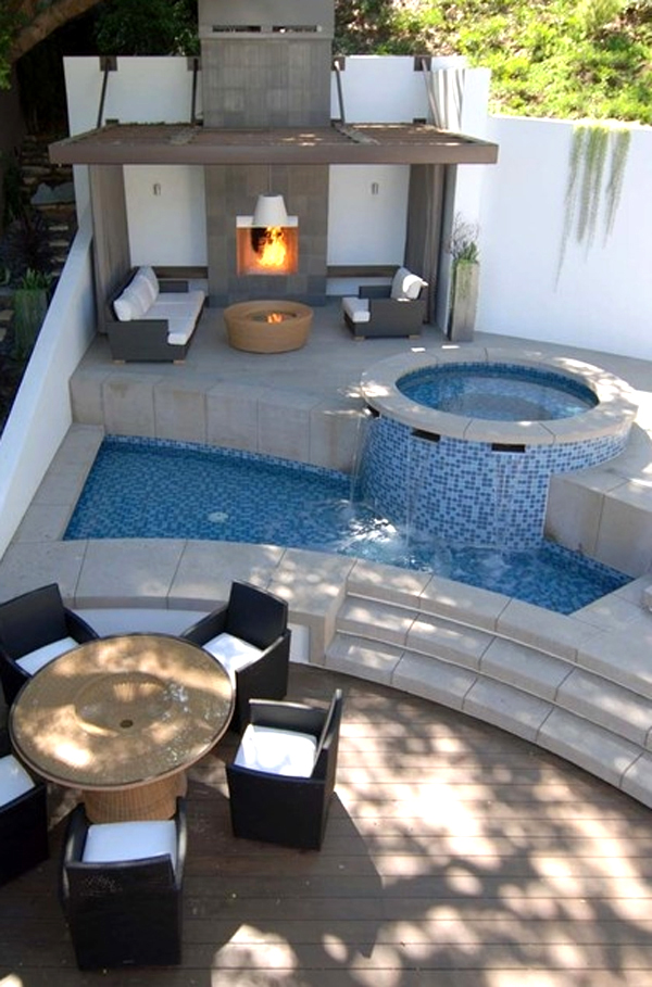 View Small Modern Pool Designs Pictures