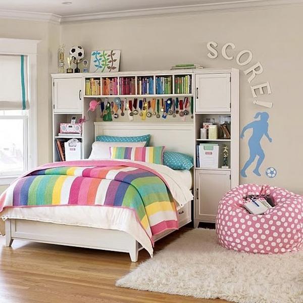 Girl Soccer Bedrooms