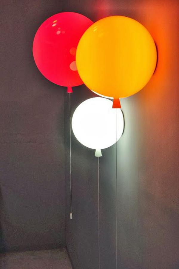 Kids Ballon Lamp Ideas