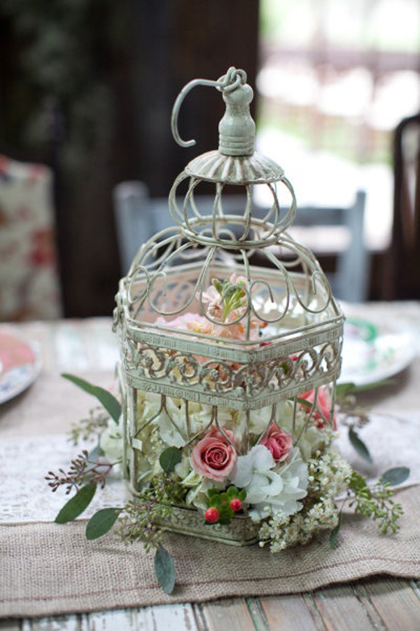 20 Flower Birdcage Decorations Homemydesign