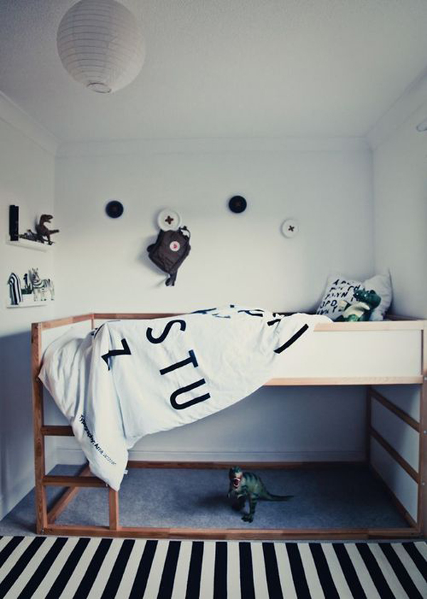 Black And White Kids Room Ideas Homemydesign
