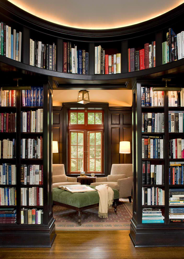 Reading Room With Library Ideas