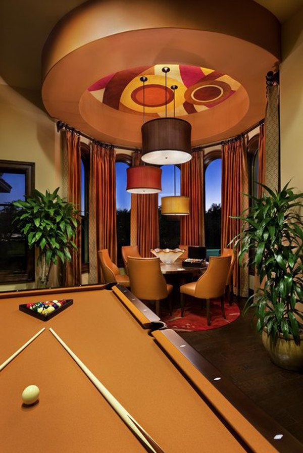 Choosing a new style of table can change the whole vibe in your dining area. 30 Amazing Billiard Pool Table Ideas   HomeMydesign