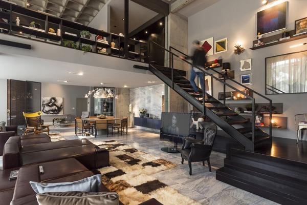 Open Concept Apartment Design In Brazil