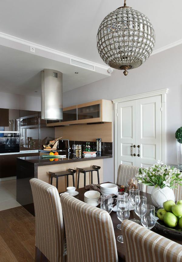 Beautiful Apartment With 100 Square Meters In Moscow