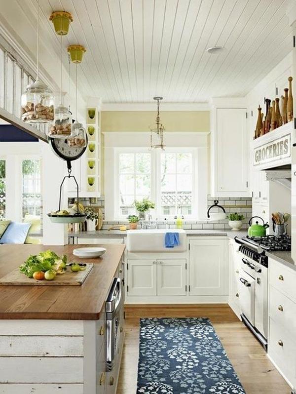 20 Vintage Farmhouse Kitchen Ideas | HomeMydesign on Farm House Kitchen Ideas  id=65843