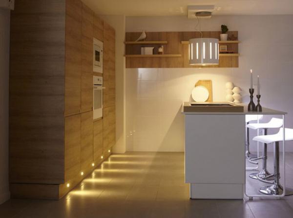 Kitchen unit lights