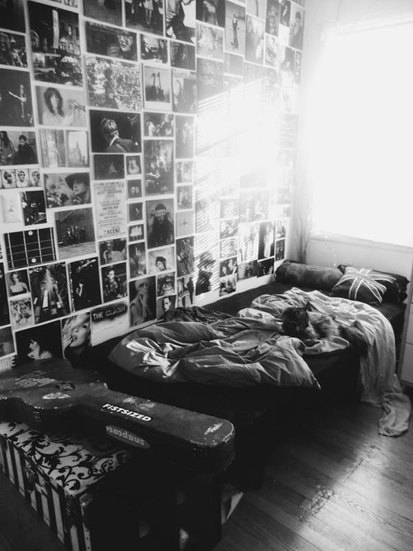 10 Casual Indie Bedroom Ideas | HomeMydesign on Room Decor Indie id=64726