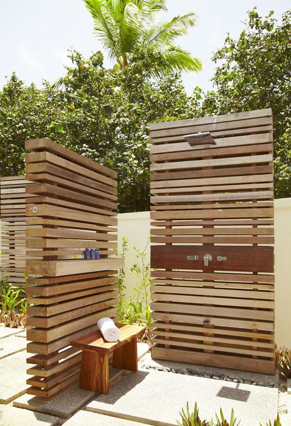 10 DIY Creative Outdoor Shower Ideas Home Design And