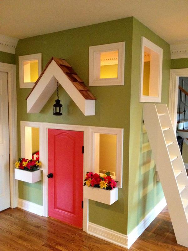 Small Indoor Kids Playhouse Design