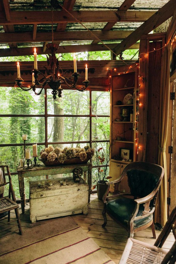 Magical Treehouse With Recycled Materials Home Design