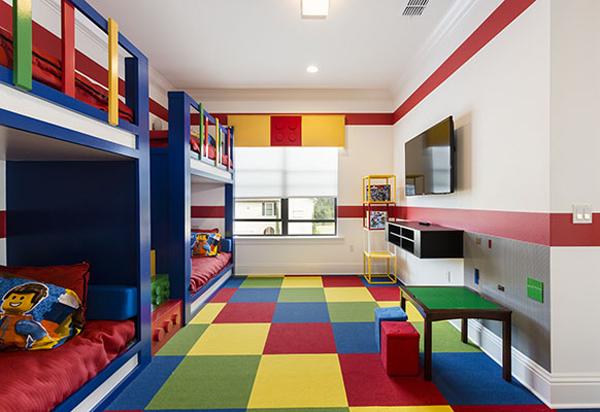Kids Lego Bedroom Themes