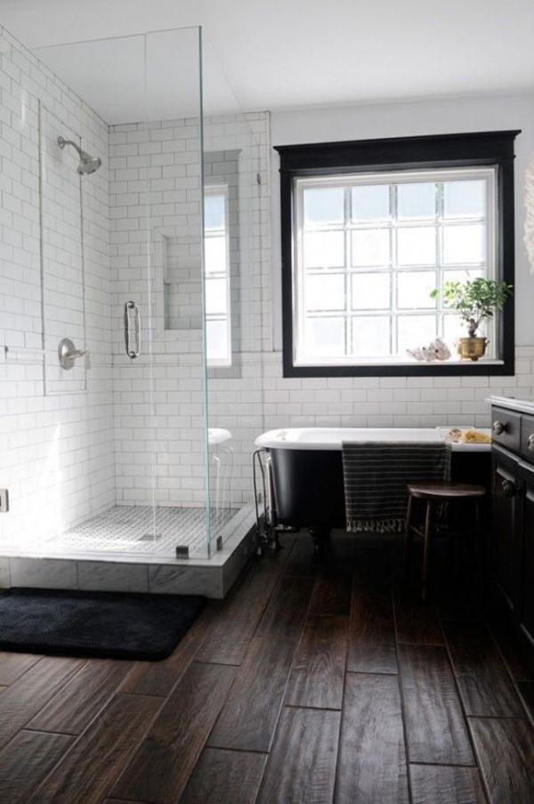 20 Cozy And Beautiful Farmhouse Bathroom Ideas | Home ... on Farmhouse Tile Bathroom Floor  id=23529