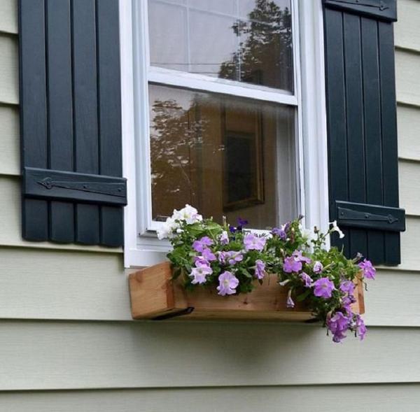 25 Wonderful DIY Window Box Planters Home Design And Interior