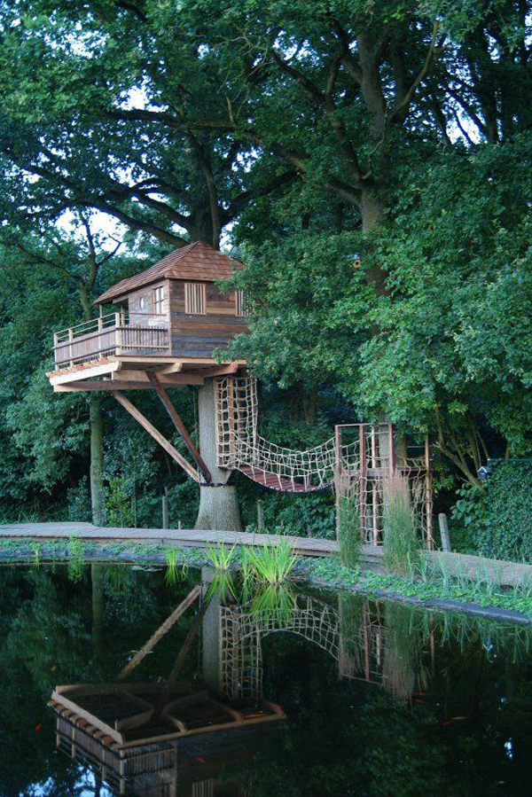 20 Awesome Treehouse With Childhood Dreams Home Design And Interior