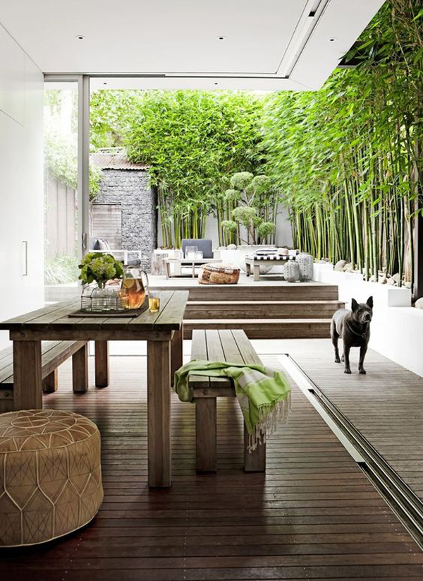 20 Beautiful Private Outdoor Spaces To Relaxing Ambiance ... on My Garden Outdoor Living id=44517