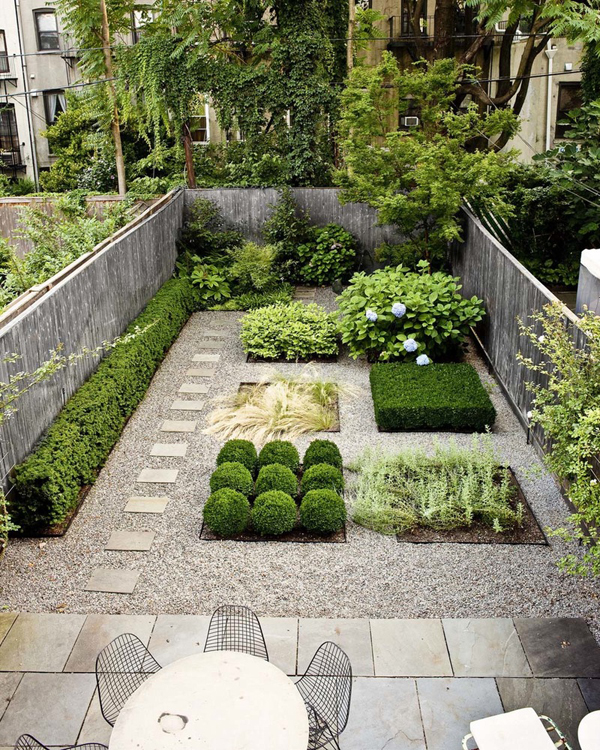 20 Lovely Backyard Ideas With Narrow Space | Home Design ... on Modern Landscaping Ideas For Small Backyards  id=77835