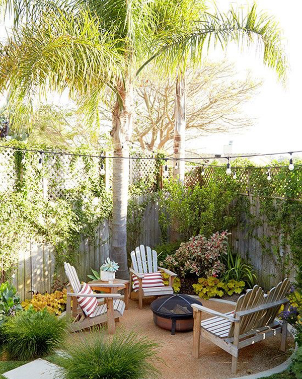 20 Lovely Backyard Ideas With Narrow Space | Home Design ... on Narrow Backyard Landscaping Ideas  id=28274