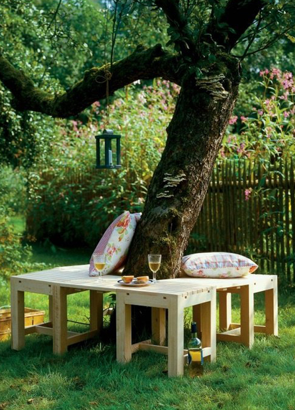 Under Tree Benches Furniture