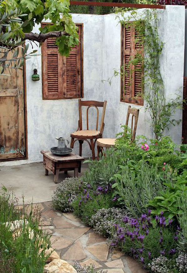 20 Outdoor Reading Nooks With The Secret Garden | HomeMydesign on Backyard Nook Ideas id=38584