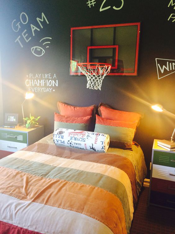25 Modern Teen Boys Room With Sport Themes Home Design