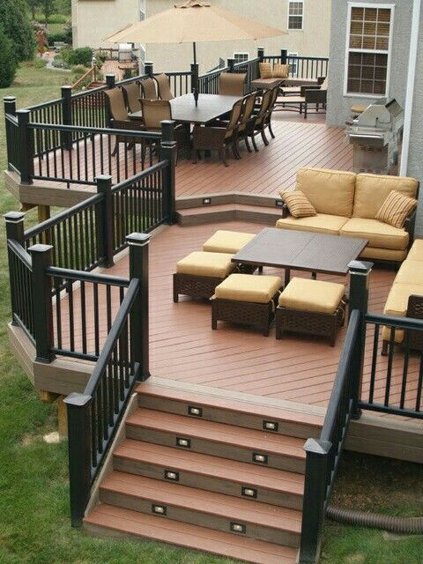 20 Cozy Backyard Deck Ideas For Your Relaxing | HomeMydesign on My Patio Design  id=89205