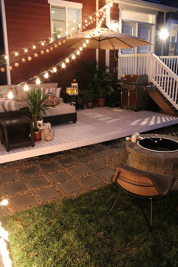 20 Cozy Backyard Deck Ideas For Your Relaxing | HomeMydesign on Outdoor Deck Patio Ideas id=13375