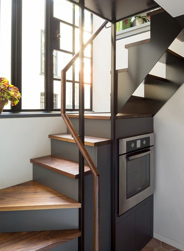 Space Saving Stairs Homemydesign Homemydesign | Space Saving Stairs Design | Storage | Small Space | Cute | Low Cost | 2Nd Floor Small Terrace Concrete