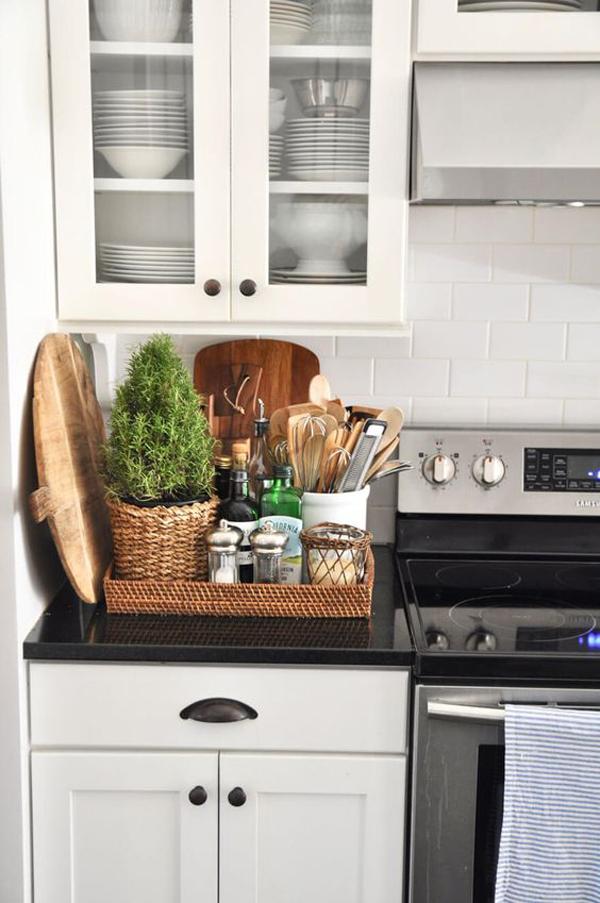 25 Genius Kitchen Countertop Organizer For Small Areas ... on Kitchen Counter Top Decor  id=96039
