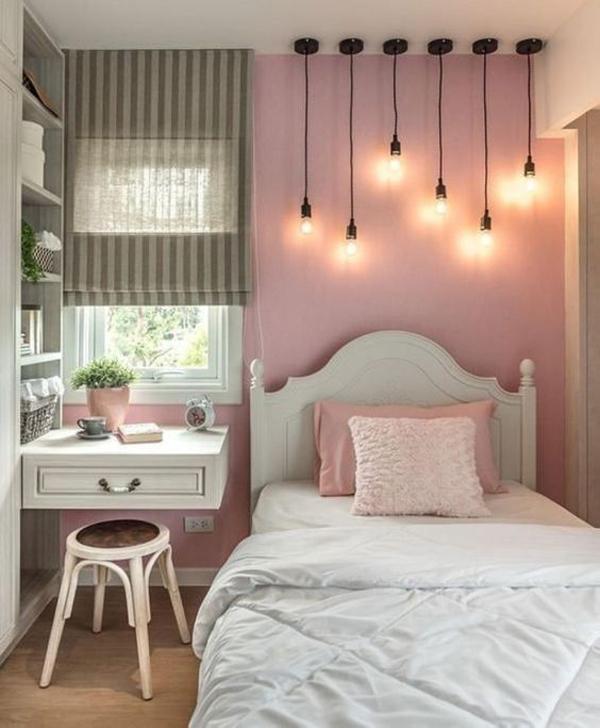 48 Trendy Girls Bedroom Ideas That Dream Space Teenagers ... on Girls Bedroom Ideas For Small Rooms  id=95611