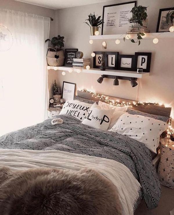 48 Trendy Girls Bedroom Ideas That Dream Space Teenagers ... on Teenage Room Decor Things  id=62208